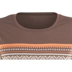 Aclima DesignWool Marius Camiseta de merino Mujer, fondue fudge